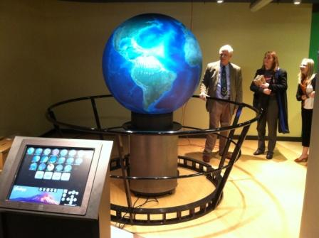 OmniGlobe at Science Museum of Western Virginia